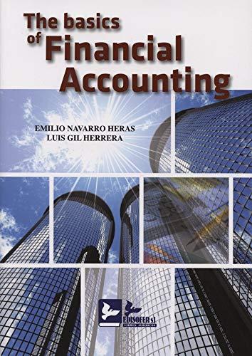 THE BASICS OF FINANCIAL ACCOUNTING: NAVARRO HERAS, EMILIO ; GIL HERRERA, LUIS