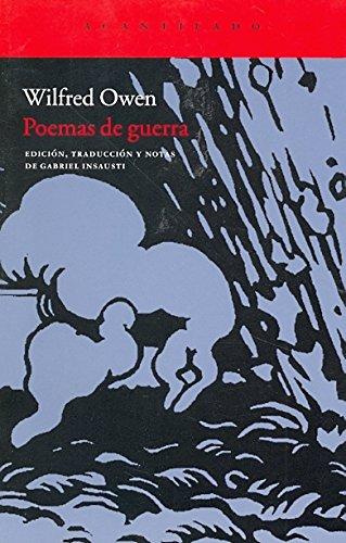 9788415277309: Poemas de guerra / War poems (Spanish Edition)