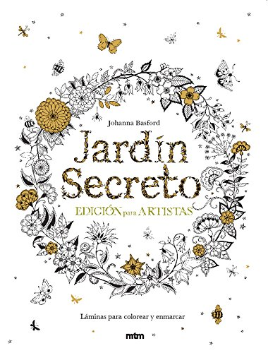 9788415278979: Jardin secreto. Edición para artistas