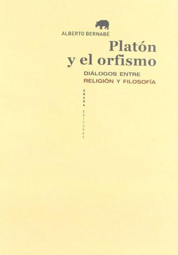 9788415289104: Platón y el orfismo
