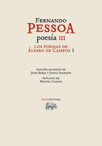 9788415289449: Los poemas de Álvaro de Campos 1