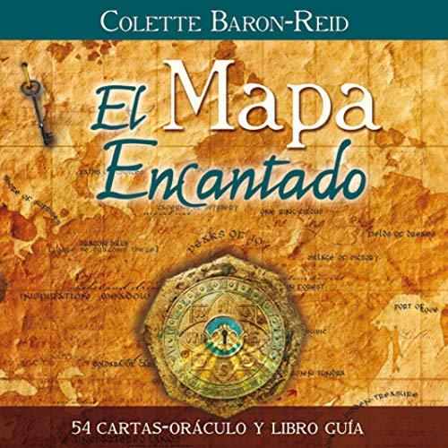 9788415292203: El mapa encantado: 54 cartas-oráculo y libro guía