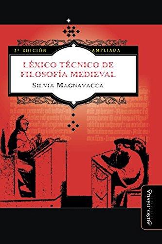LEXICO TECNICO DE FILOSOFIA MEDIEVAL (2º ED): SILVIA MAGNAVACCA