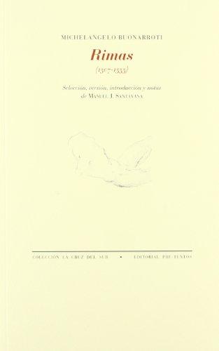 Rimas (1507-1555) (Paperback): Michelangelo