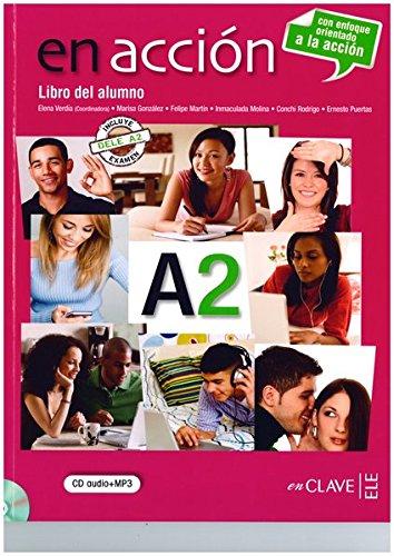 9788415299028: En Accion: Libro Del Alumno A2 + CD-Audio (Spanish Edition)