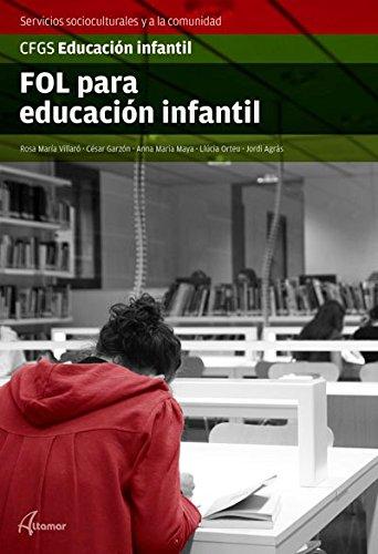 9788415309574: FOL para Educación infantil (MODULOS TRANSVERSALES - SANIDAD) - 9788415309574