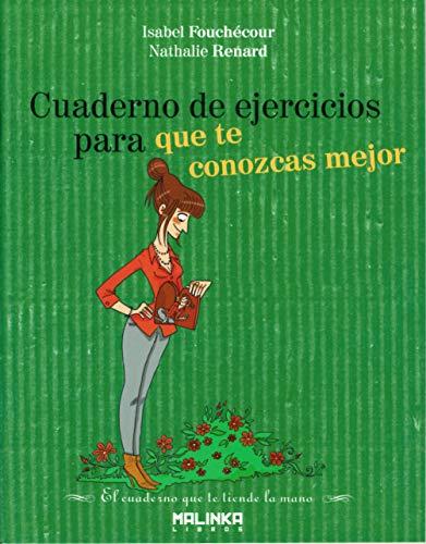 9788415322016: Cuaderno de ejercicios para que te conozcas mejor (Spanish Edition)