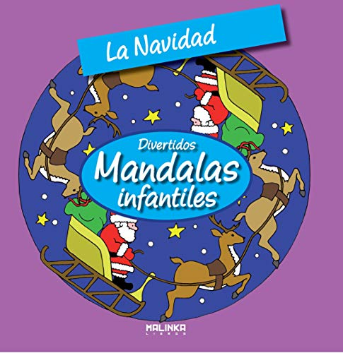 9788415322368: La navidad (Mandalas infantiles)