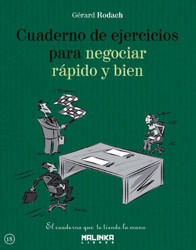 9788415322634: Cuaderno de ejercicios para negociar rápido y bien (Spanish Edition)