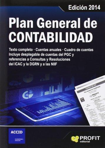 9788415330264: PLAN GENERAL DE CONTABILIDAD. Edicin 2014