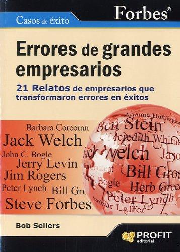 ERRORES DE GRANDES EMPRESARIOS (Spanish Edition): Bob Sellers