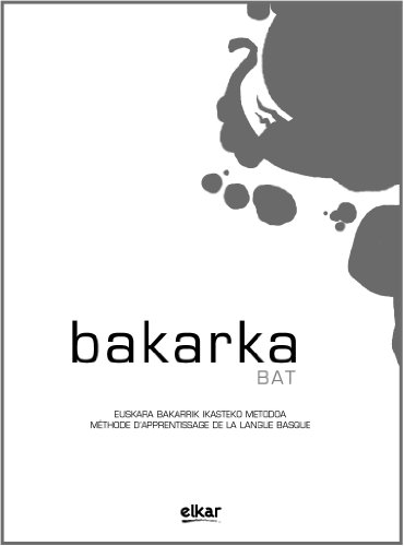 9788415337102: Bakarka 1 (Frantsesez) (+erantzunak) (Hizkuntza)
