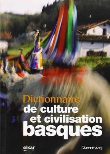 9788415337331: Dictionnaire de Culture et Civilisation Basques