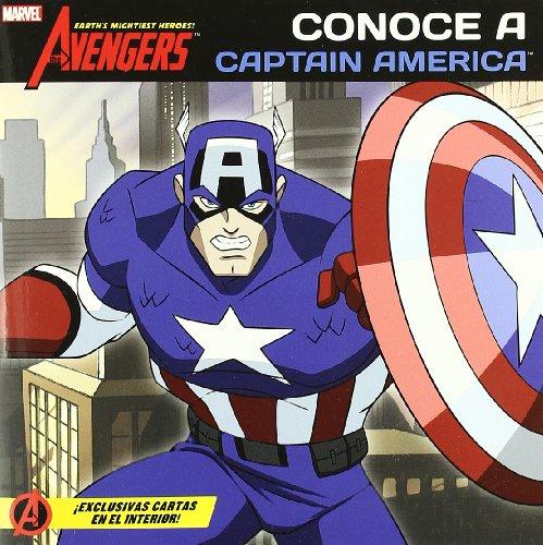 9788415343127: Conoce a capitan América - cuentos de los vengadores (Marvel Cuentos Vengadores)