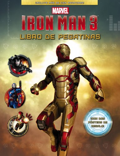 9788415343509: Iron Man 3. Libro De Pegatinas (Marvel. Superhéroes)
