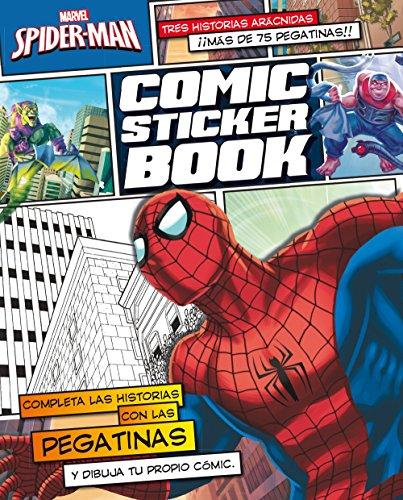 9788415343790: Spider-Man. Comic Sticker Book