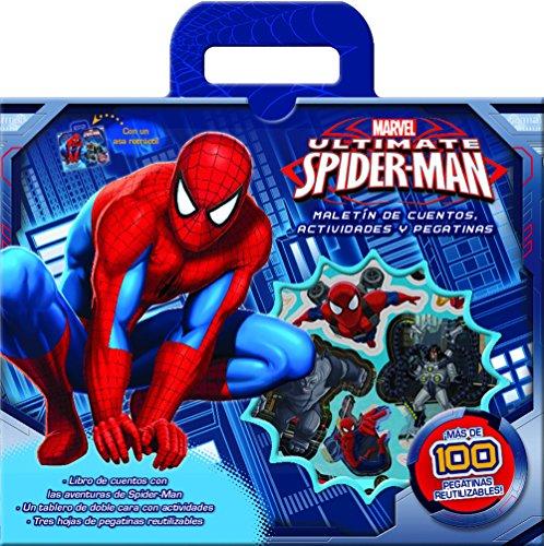 9788415343820: Spider-Man. Malet�n de cuentos, actividades y pegatinas