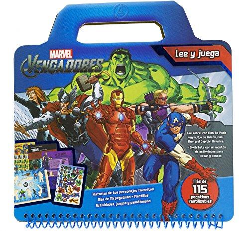 9788415343967: Los Vengadores. Lee y juega (Marvel. Los Vengadores)