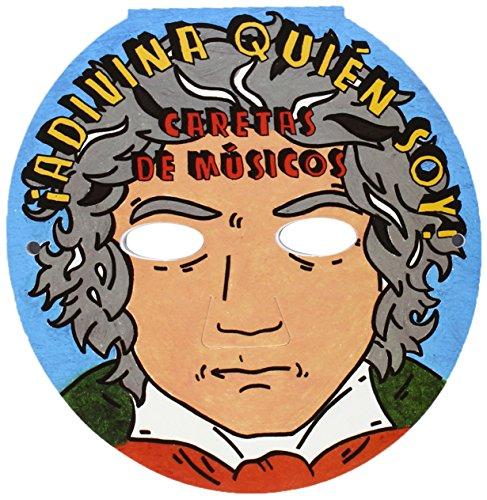 9788415381143: CARETAS DE MUSICOS:ADIVINA QUIEN SOY!.(REF:B.3738)