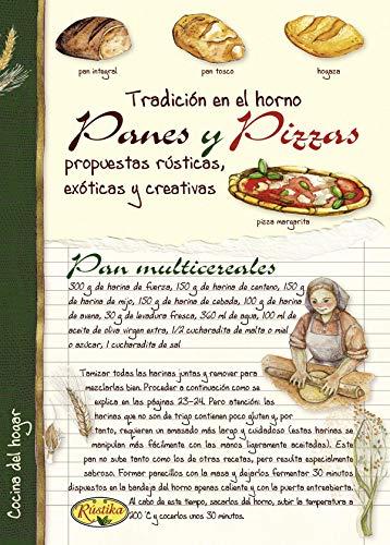 9788415401148: PANES Y PIZZAS REF. 1008/ 2 RUSTIKA