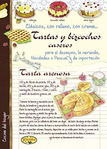 9788415401186: Tartas y bizcochos caseros