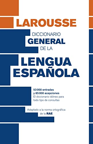 9788415411789: Diccionario General de Lengua Espanola - Spanish dictionary (Spanish Edition)