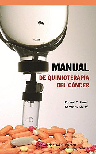 9788415419549: Manual de quimioterapia del cáncer (Spanish Edition)