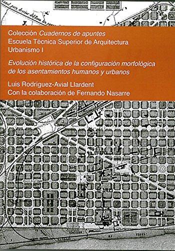 9788415423799: Evolución histórica de la configuración morfológica de los asentamientos humanos y urbanos