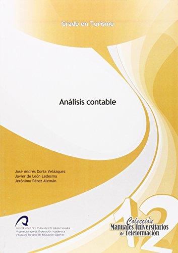 9788415424352: Análisis Contable (Manual Universitario de Teleformación Grado de Turismo)