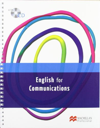 9788415426776: ENGLISH FOR COMUNICATIONS Libro