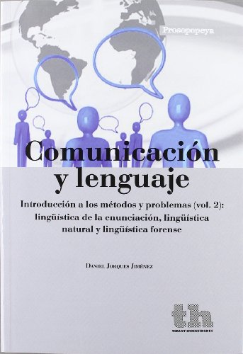 Comunicación y lenguaje: Jiménez, Daniel Jorques