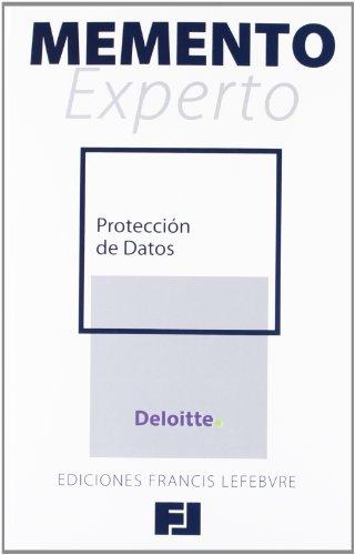 9788415446262: Memento Experto Protección de Datos (Mementos Expertos)