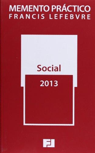 9788415446675: Memento Practico Social 2013