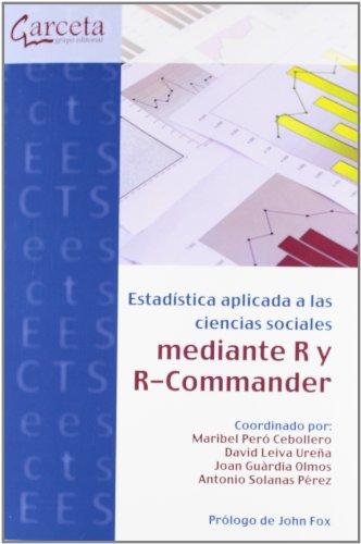 9788415452140: ESTADISTICA APLICADA CIENCIAS SOCIALES R Y R-COMMANDER