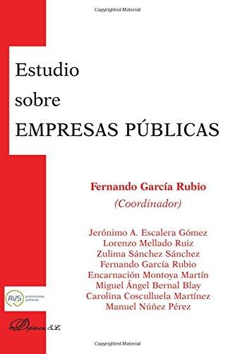 Estudio sobre empresas p?blicas: Garcia Rubio, Fernando