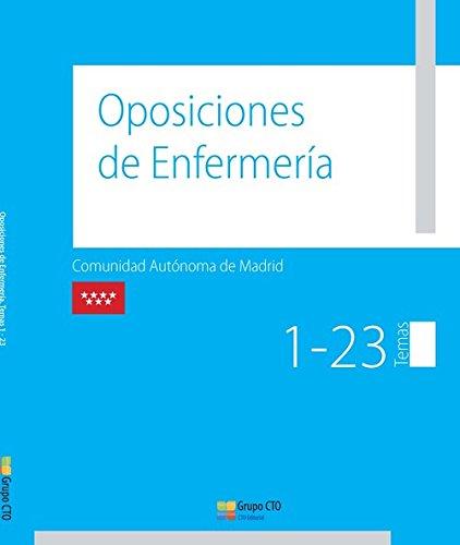 Manual Cto De Oposiciones De Enfermería. Comunidad Autónoma De Madrid - Vv.Aa.