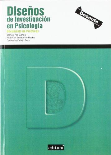 9788415463009: Diseños de Investigación en Psicología: Documento de prácticas