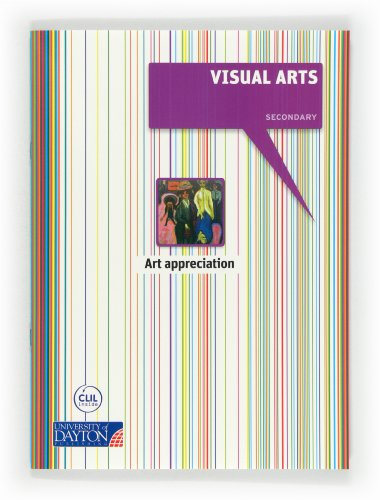 9788415478423: Visual arts. 1º ESO. Art appreciation booklet