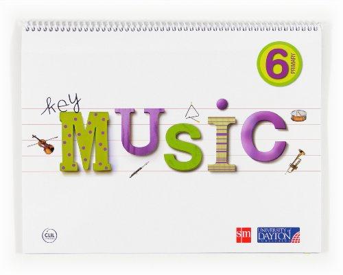 9788415478812: Music. 6 Primary. Key - 9788415478812