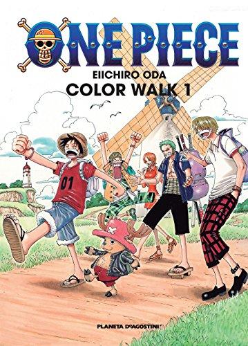 9788415480358: One Piece Color Walk nº 01 (Manga Artbooks)