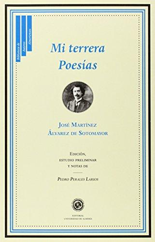 9788415487982: Mi Terrera (Biblioteca de Autores Almerienses)