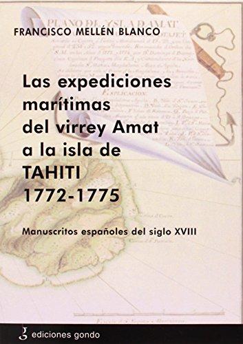 9788415506003: EXPEDICIONES MARITIMAS DEL VIRREY AMAT