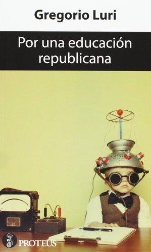 9788415549901: Por una educación republicana