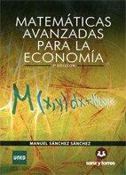 9788415550549: Matemáticas Avanzadas para la Economía