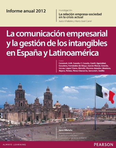9788415552093: COMUNICACION EMPRESARIAL Y LA GESTION INTANGIBLES ESPA?A LATINOAM.2012