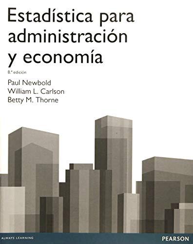 9788415552208: Estadística para administración