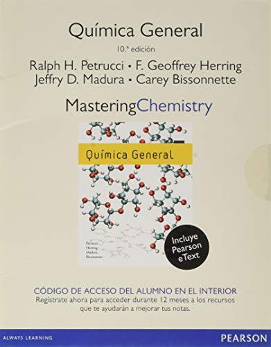 9788415552628: General Chemistry Mastering Chemistry (Fuera de colección)