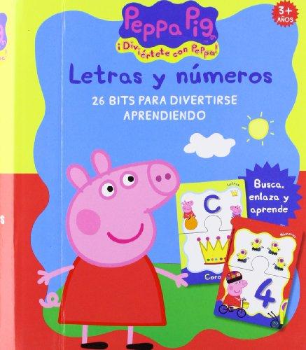 9788415553069: Peppa Pig - Letras Y Numeros (Peppa Pig (medialive))
