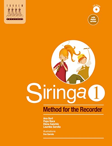 9788415554141: Siringa 1. Method for the recorder