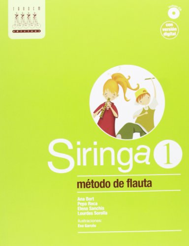 9788415554158: Siringa 1. Método de flauta - 9788415554158